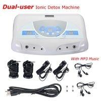 Dual User Ionic Detox Machine Foot Bath Spa Tool LCD W MP3 Music Cleanse Salon