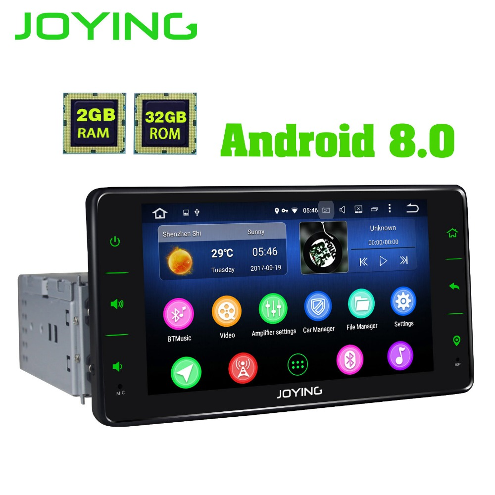 6 2 joying single 1 din px5 2gb 32gb universal android car. Black Bedroom Furniture Sets. Home Design Ideas