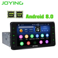 6.2Joying Single 1 Din PX5 2GB+32GB Universal Android Car Audio Stereo Radio Multimedia Player GPS Taper Recorder Head Unit.