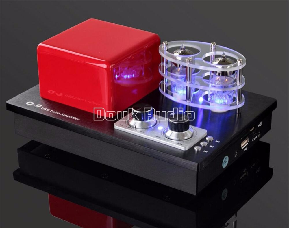 Music Hall Mini Integrated Stereo Vacuum Tube Amplifier Lossless PC Support  USB DAC Hi-Fi Headphone Amp 115~230V music hall latest 12ax7 vacuum tube pre amplifier hifi stereo valve pre amp audio processor pure handmade