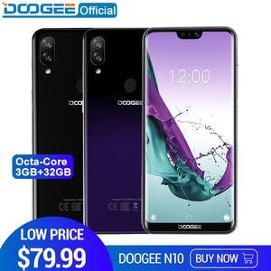 DOOGEE N10 mobile Phone Octa-Core 3 GB RAM 32 GB ROM 5.84 inch FHD + 19:9 Display