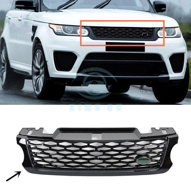 For Land Rover Range Rover Sport SVR 2014 2018 ABS front grille ...
