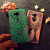 Akabeila Hollow Palace Paper Cut Flower Dreamcatcher Case For Huawei Honor 5X Honor Play 5X Mate 7 Mini GR5 5.5 Inch Cover Shell