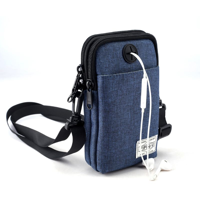 Men Mobile Phone Packs Shoulder Bag Sports Waist Pouch Men Mobile Phone Packs Shoulder Bag Sports Waist Pouch
