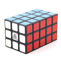 WitEden Unequal 3x3x5 Camouflage Magic Cube Professional Speed Puzzle 335 Cube Educational Toys for Children cubo magico