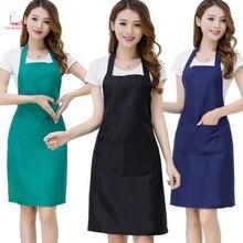 Apron men's and women's beauty salon manicure dining kitchen milk tea shop work clothes Korean version of fashion custom