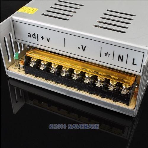 SAVEBASE LED Lights Devices Switching Power Supply 24V15A AC-DC PSU 360W 110/220/230V