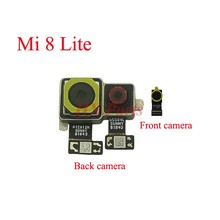 For Xiaomi Mi 8 Lite Main BIG Back Rear Camera Flex Cable And Front Small Camera Cam Module Replacement Parts(China)