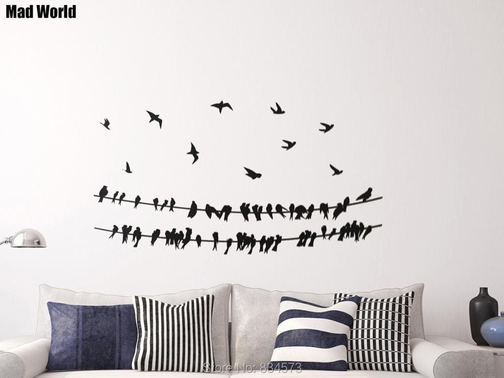 Aliexpress.com : Mad Welt Vögel auf Powerline Tier Vogel Draht ...