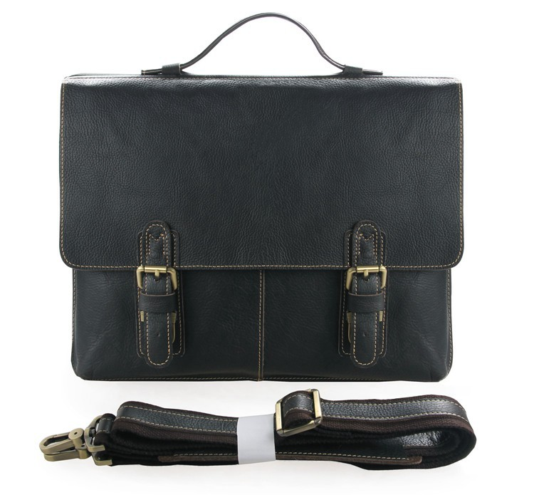 J.M.D Excellent Cow Leather Men's Classic Business Briefcases Laptop Handbag Messenger Bag 7090A 247 classic leather
