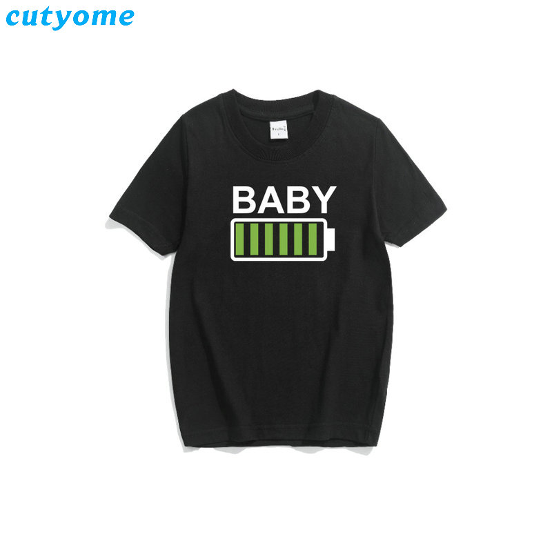 Matching Father Son Mother Daughter T-shirts Family Outfits Mommy Baby Kids Father And Me Tshirts Black Top Tees Clothes For Mom (6)