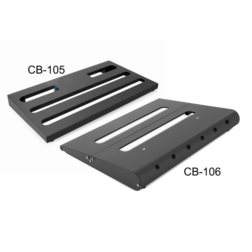 caline cb 105 guitar effect pedal board pure herden aluminum alloy with durable bag guitar. Black Bedroom Furniture Sets. Home Design Ideas