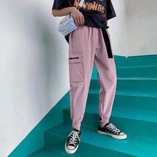 Harajuku new trend Harlan sports mens casual Pockets Cargo Harem Pants Mens hip hop streetwear pants personality trousers