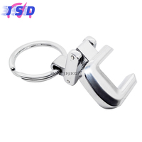 Car Styling Metal Key Chain Key Ring For C Logo Auto Keychain Accessories For Mercedes Benz