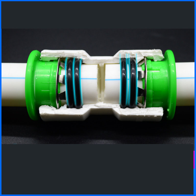 Yooap 10 Type 1 Inch 32mm Hot free Water Pipe Quick Connectors Irrigation Pipe Fittings Garden Pipe Connectors Tubing Fitting in Garden Water Connectors from Home Garden