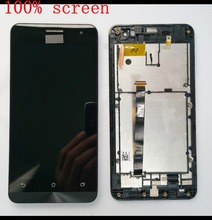 For Asus Zenfone 5 A500CG A500KL A501CG LCD Display Panel Screen Touch Screen Digitizer Glass Assembly With Frame Replacement