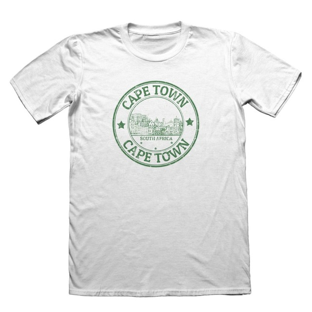 d12adf210f8d 2019 Hot Sale 100% cotton Cape Town South Africa T-Shirt - Mens Funny Gift  #4323 Tee shirt