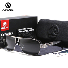 2018 New KDEAM Polarized Sunglasses Portable Driving Fishing Goggles 4 Colors UV400 With Case KD737