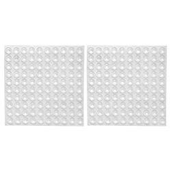 200x прозрачные резиновые накладки на бампер, самоклеющиеся бамперы, звукопоглощающие буферные площадки для дверей, 8*2,5 мм