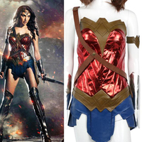 2017 DC Movie Cosplay Costumes Suits Superman:Dawn of Justice Wonder Woman For Adult Cosplay Costume For Halloween Party