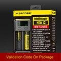 Marca Nitecore Novo i2 Nitecore Intellicharger i2 Carregador de Bateria para 16340 CR123A 10440 AAA AA 14500 18650 26650, 22650, 17670