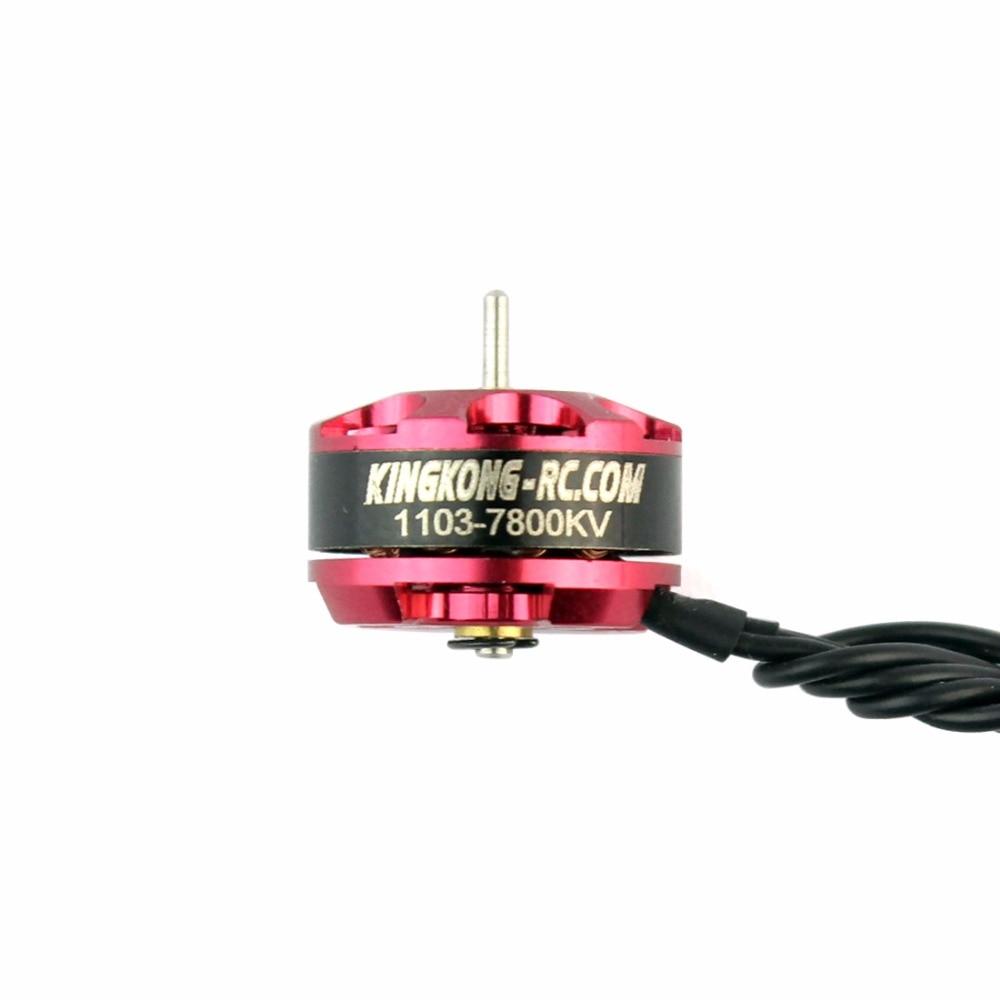 JMT KINGKONG 1103 7800kv Mini Brushless Motor for RC Mini Multirotor Drone