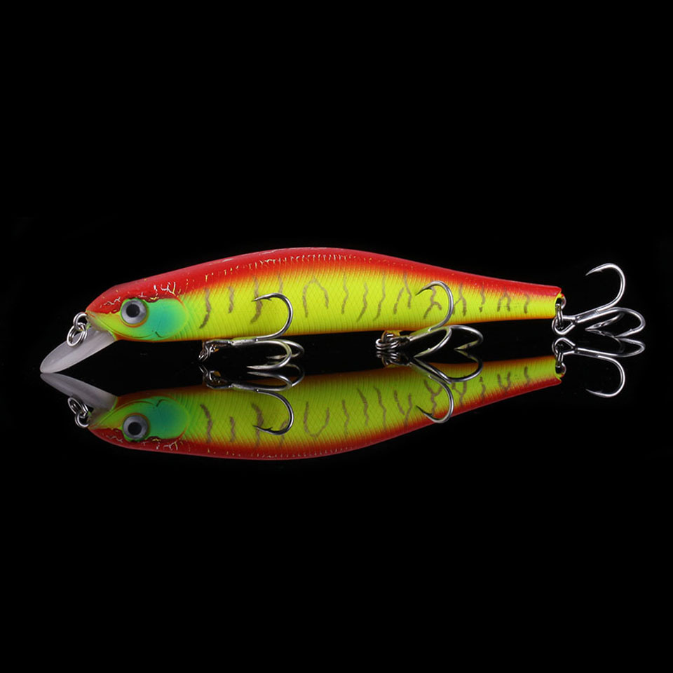 WALK FISH Professional Fishing Lure 120mm 17.4g Suspend Wobbler Minnow Depth 0.8-1m Bass Pike Bait Fishing Tackle Pesca