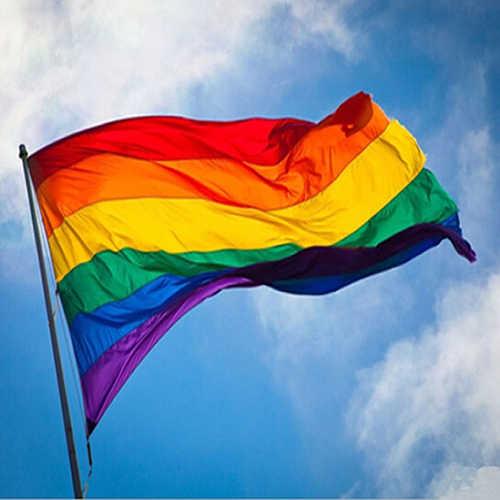 New-Fashion-Rainbow-Flag-Durable-Big-Pol