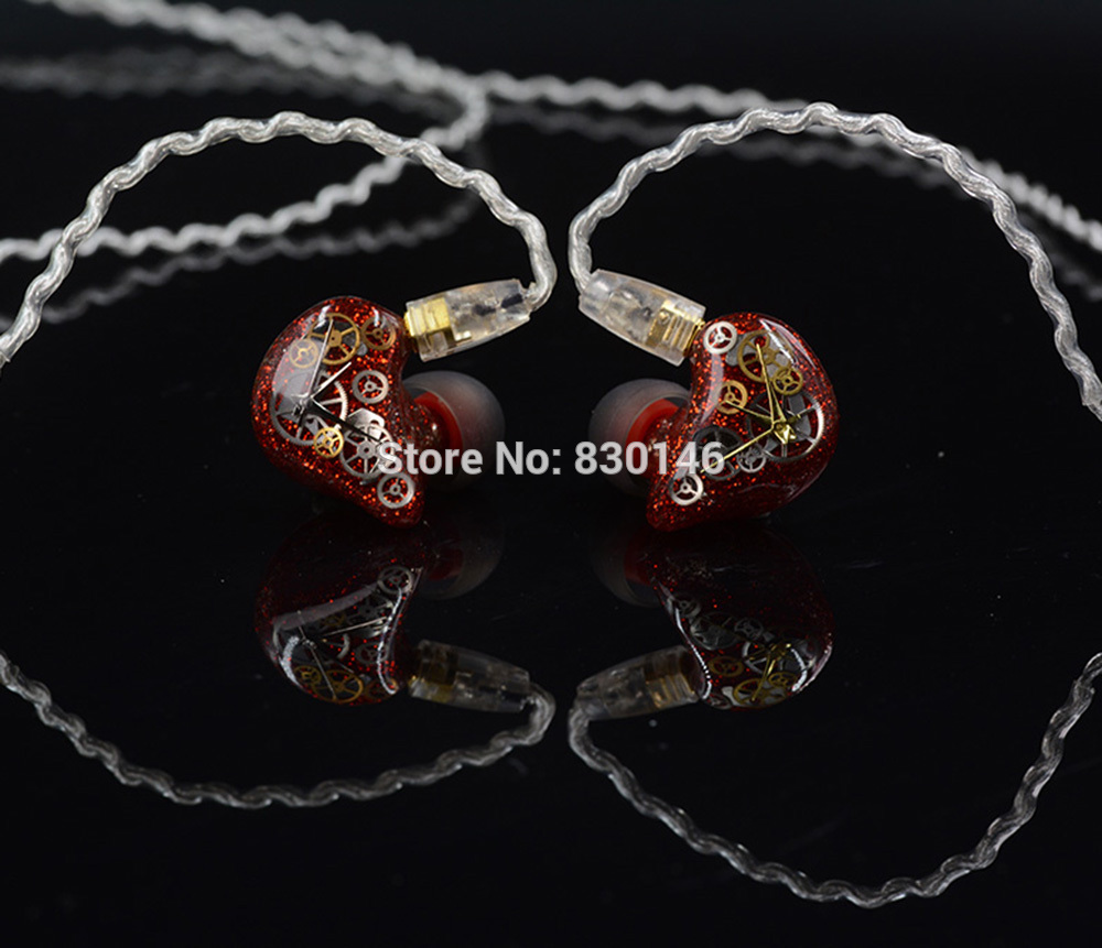 2016 In Ear UE Earphone 1DD + 1BA Hybrid Drive Unit Bass Customer Made DIY HIFI Monitor Customized With MMCX Interface hangrui xba 6in1 1dd 2ba earphone hybrid 3 drive unit in ear headset diy dj hifi earphones with mmcx interface earbud for phones