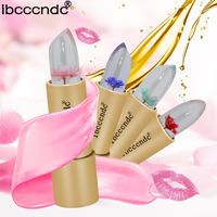 4 Colors Magic Jelly Lip Gloss Stick Temperature Change Moisturizer Bright Lipstick Lips Care Makeup Comstics