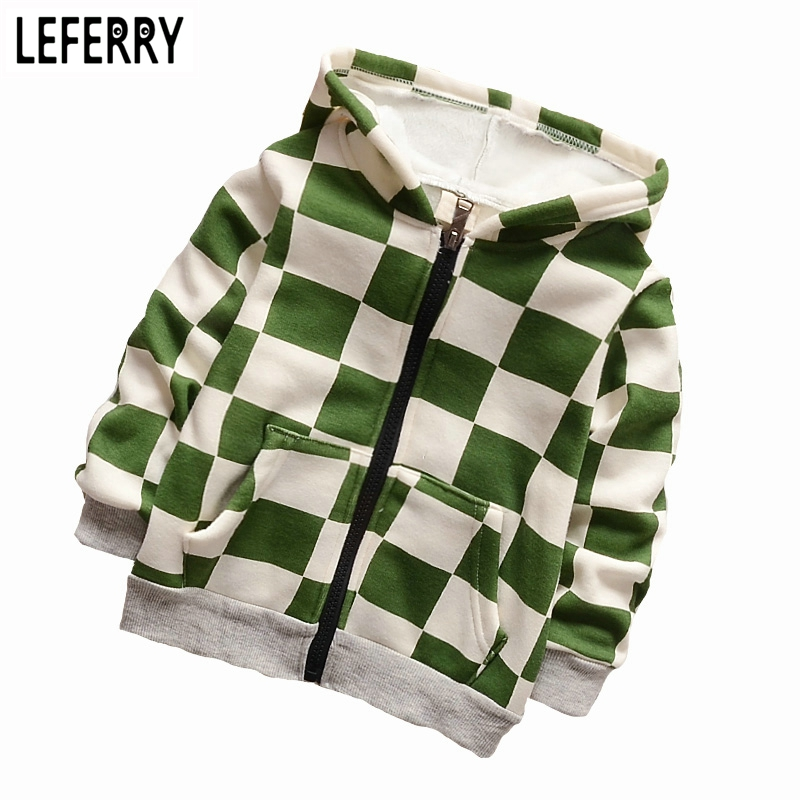 2018 New Autumn Winter Kids Hoodies Boys Clothes Velvet Children Clothing Boy Sweatshirt Baby Coats and Jackets Hooded ...