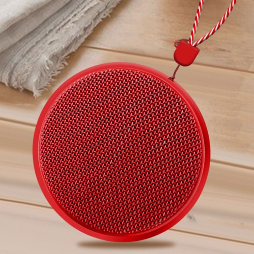 Wireless Bluetooth Speaker Outdoor Mini Sports Audio Portable Subwoofer Built-in Microphone Mesh Fabric Production