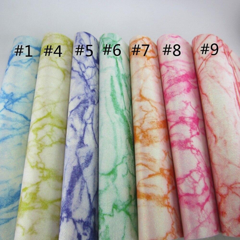 30 см x 134 см мраморность блеск ткани искусственная кожа синтетическая кожа для коробки рукоделие декоративный материал AY259