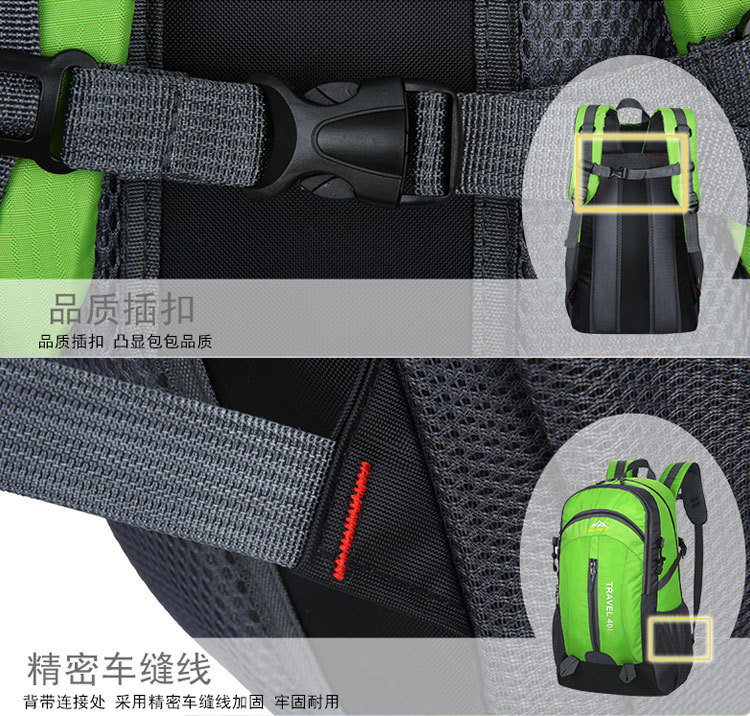 HTB17HLVmRjTBKNjSZFuq6z0HFXa6 40L Waterproof Backpack Hiking Bag Cycling Climbing Backpack Travel Outdoor Bags Men Women USB Charge Anti Theft Sports Bag