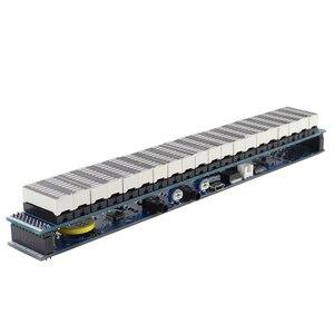 Image 3 - Ghxamp multicolorido 20 segmento led amplificador de espectro de música nível 10 usb 5 12 v função de relógio de alimentação terminado novo