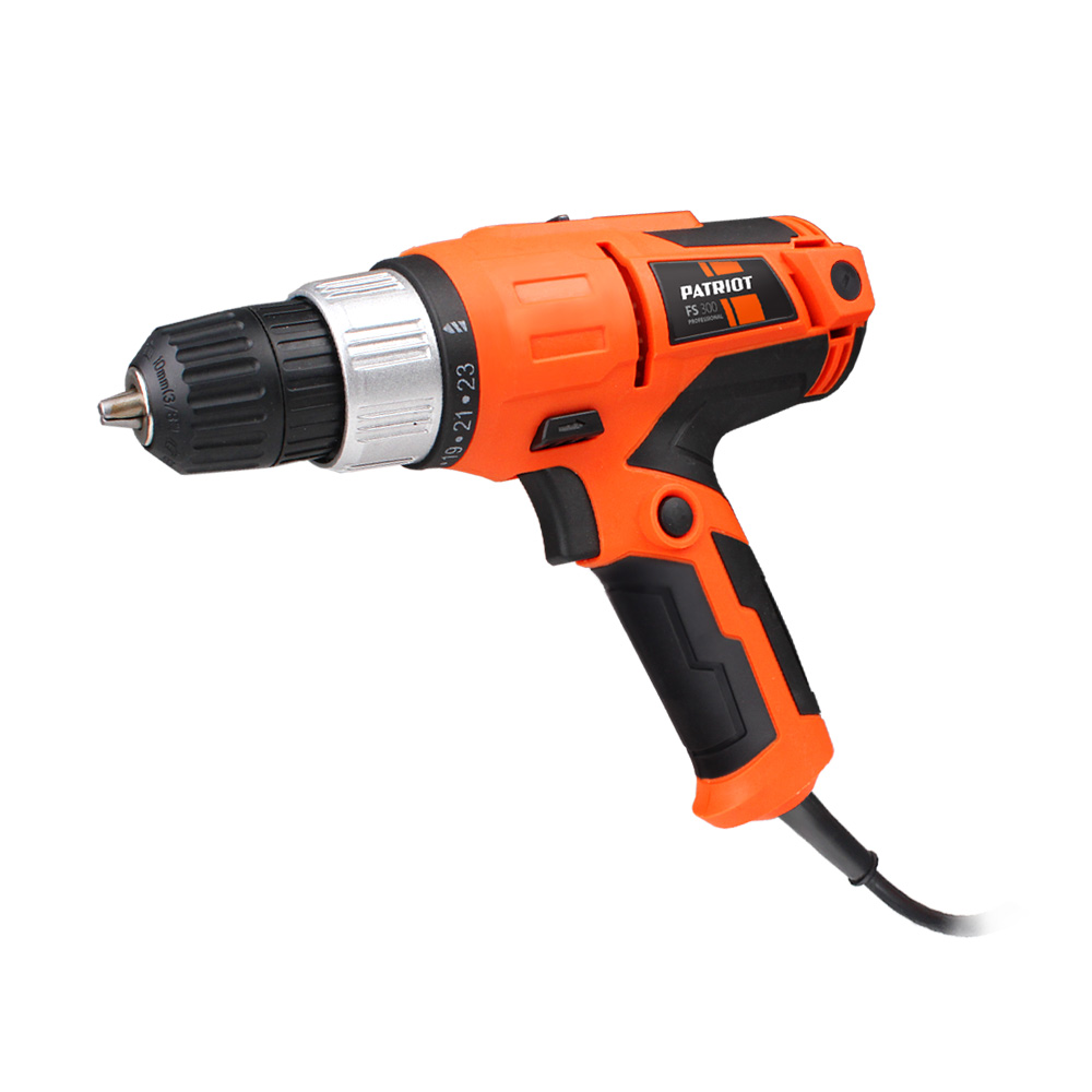 Drill driver electric PATRIOT FS-300 dmiotech 20 pcs electric drill motor carbon brushes 10mm 11mm 13mm 17mm 6mm 7 5mm 7mm 8mm 9mm
