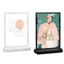 Label-Holder Sign Poster Photo-Frame Price-Tag Display-Rack Desktop-Price A6 Talker 148--105mm