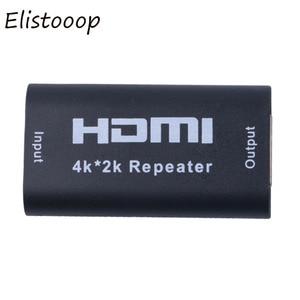 Image 3 - Mini 1080P 4K * 2K Hdmi Extender Repeater 3D Hdmi Adapter Signaal Versterker Booster 4.95Gbps Over signaal Hdtv AH131 + Hdmi Extender