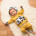 2Pcs Toddler Baby Boys Long Sleeve Hooded Tops+Harem Pants Toursers Outfits Set