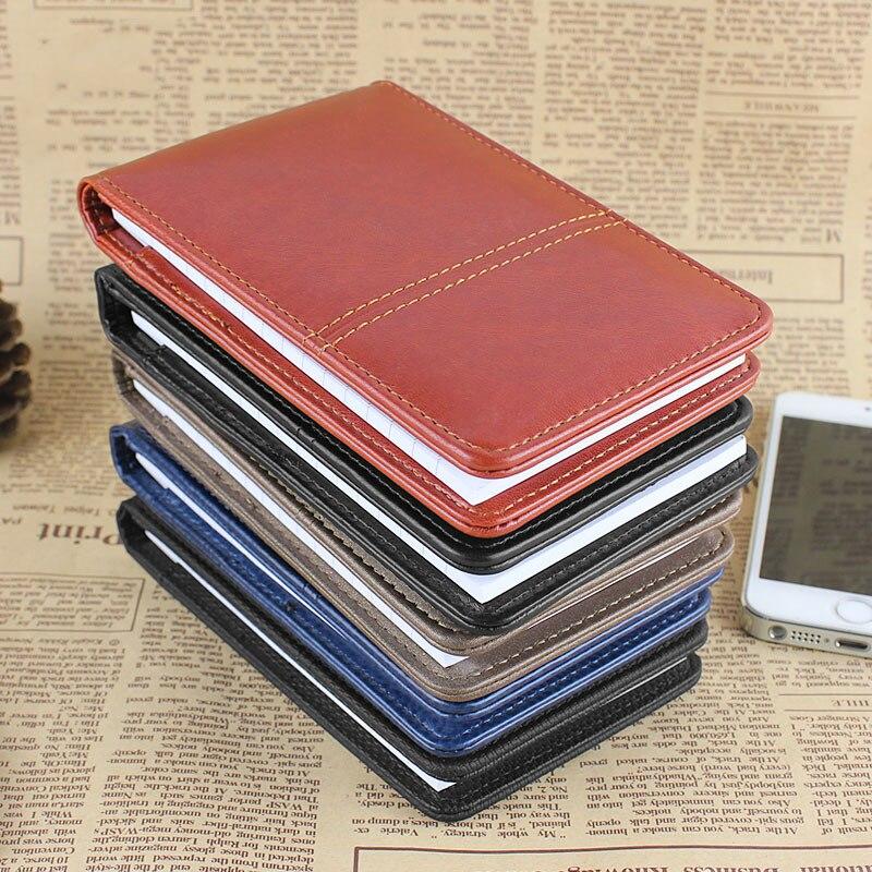 2015 nou design creativ papetărie PU din piele notepad Notebook - Blocnotesuri și registre - Fotografie 6