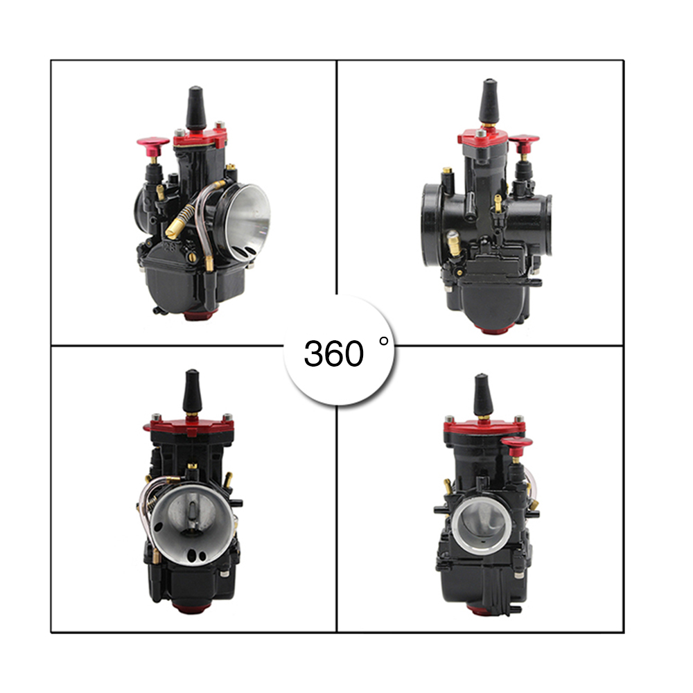 Image 4 - ZSDTRP 21 24 26 28 30 32 34mm Universal Black Mikuni Maikuni PWK Carburetor Parts Scooters With Power Jet Motorcycle ATV-in Carburetor from Automobiles & Motorcycles