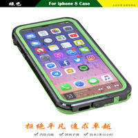 High Quality Outdoor Phone Case For Iphone X Super Dustproof Waterproof Shorkproof Bag Shell Full Body