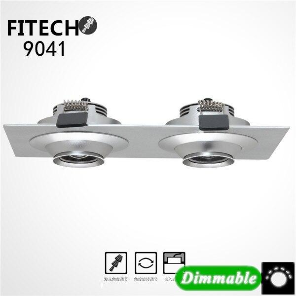 6 Вт COB CREE чип AC110V/220 В диммер встраиваемые светодиодные светильники потолочные пятно света лампы Белый /теплый белый светодиодные лампы