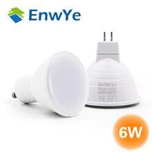 EnwYe MR16 GU10 Lampada LED הנורה 6 W 220 V Bombillas LED מנורת זרקור Lampara ספוט אור