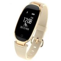 Fashion Women Watches S3 Ladies Smart Bracelet Bluetooth Heart Rate Fitness Tracker Pedometer Mp3 Smart Wristband