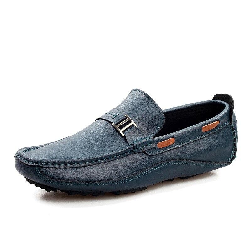 Conduite 2018 2 1 Style Hommes Cuir Mocassins Sport Pour Chaussures Pois En De Nouveau Véritable 3 qVUSzMpG