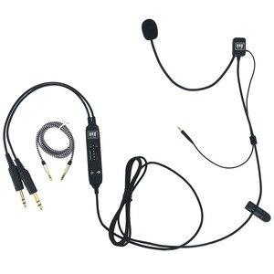 Image 2 - UFQ casque daviation Mike 2 combinaison de microphone pour Bose QC25,QC35, fonctionne également avec Sony ou Sennheiser, bonne qualité