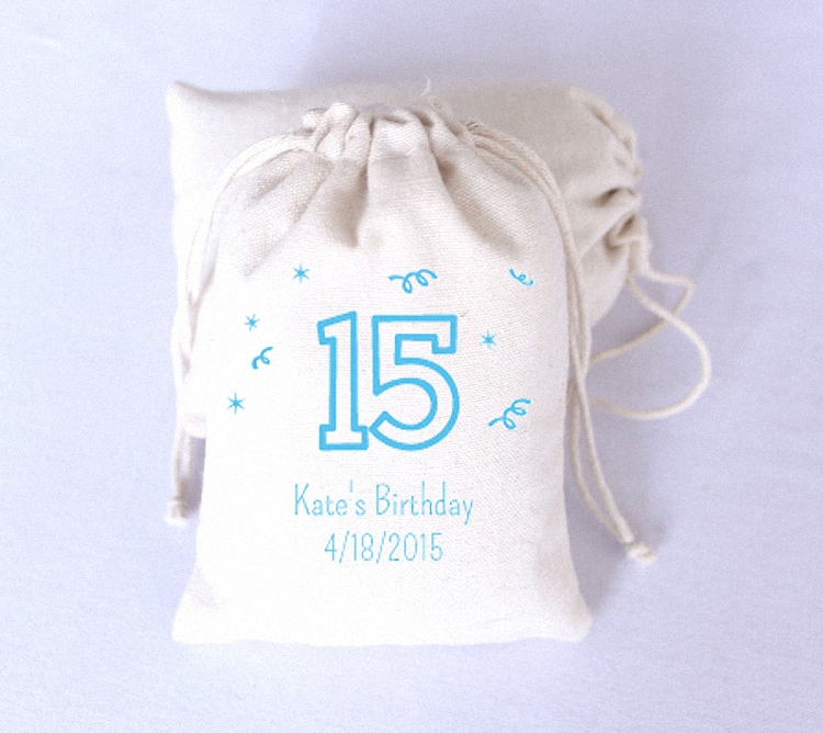 Personalized Party Favor Boxes Birthday : Free shipping newest coming set of quot birthday th