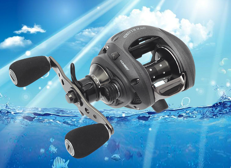 Haibo bait casting reel ultra light fishing reel  Fishing 9 bearings 6.4:1  left / right hand reel avilable fishing reel ryobi aquila z bait casting reel 9 1 ball bearings cheap fishing in stock molinete pesca free shipping