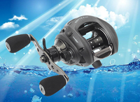 Haibo bait casting reel ultra light fishing reel Fishing 9 bearings 6.4:1 left / right hand reel avilable